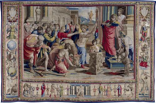 MISIÓN DE S PABLO y S BERNABÉ EN LYSTRA. Allí tuvo lugar la curación milagrosa.