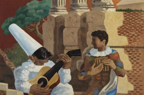 Gino Severini. Lección de Música,1928.Museo de Arte Contemporáneo di Trento.