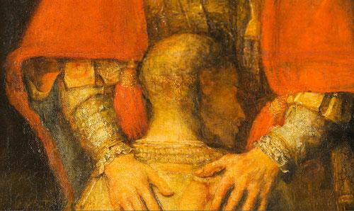 Lucas, el evangelista de la Misericordia de Dios, Lc 15,11-32 (Parábola del Hijo Pródigo) es leer una catequesis de un Padre que nos acoge y espera porque es amor y ternura.Es una invitación a volver a la casa del Padre.