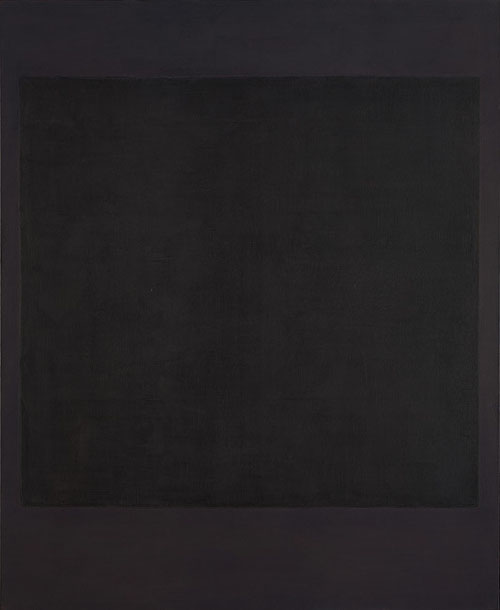 Mark Rothko N.I(1964)Pintor y grabador nacido en Letonia desarrolló su carrera en Estados Unidos.Participa de una experiencia mística que envuelve su pintura.Al final de su vida, de tonalidades oscuras para la Capilla Houston,espacio de meditación con 14