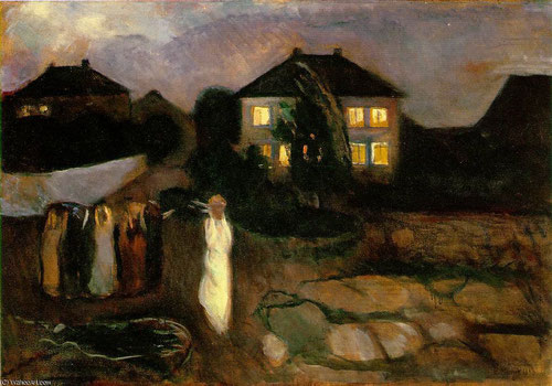 La tormenta 1893.Óleo sobre lienzo.91x130cm.Museum of Modern Art,Nueva York.