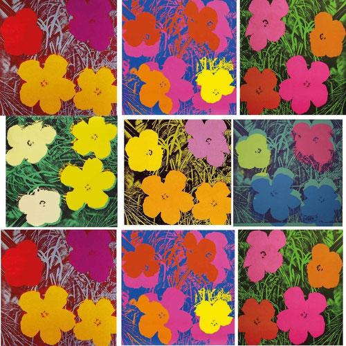 A.Warhol.Flores 1970