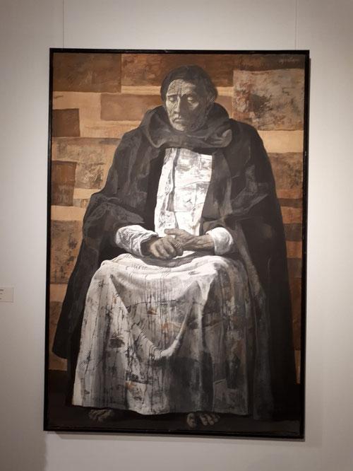 Santo Domingo de Guzman. Joaquin Vaquero Turcios 1971. Acrílico sobre tela.130x197cm. Colección del artista.