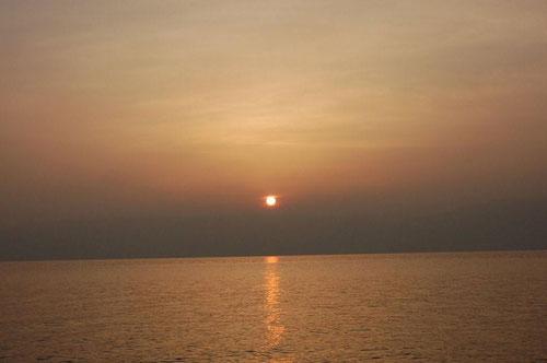 ...Amanecer en Tiberiades. Mar de Galilea