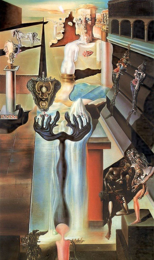 Dalí, el hombre invisible,1929-1932