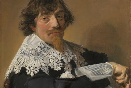Frans Hals.Retrato de un hombre 1635.Óleo sobre lienzo 79x66cm.Amsterdam Rijksmuseum.