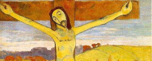 El espectador tan desubicado como los personajes del cuadro se ve impactado por ocres y amarillos,un paisaje que choca por su incongruencia.Podríamos pensar que es una fantasia del pintor,pero no lo es,es la famosa ley del contraste simultáneo de Chevreul