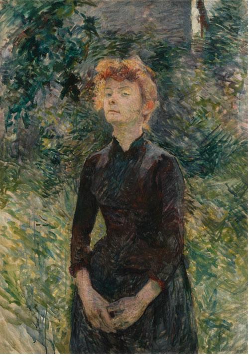 Toulouse Lautrec.À Batignolles 1888. öleo sobre lienzo. Colección Nahmad, Mónaco. Lautrec desarrolla toda una tipología de seres marginales, de los barrios de la periferia con un lenguaje humano.