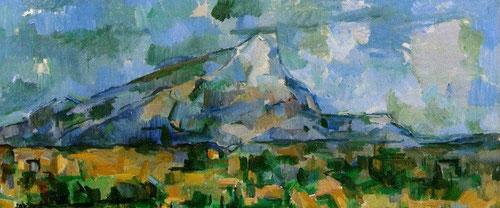 Paul Cezánne, La montaña de Sante Victoire:principal santuario de su culto a la naturaleza.