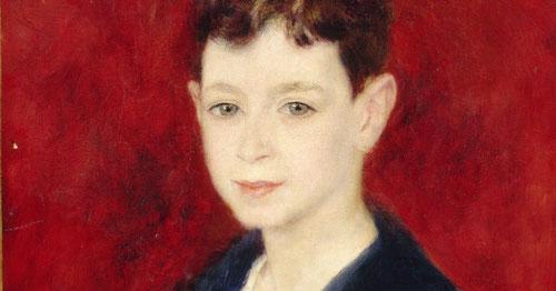 Renoir.Fernand Halphen enfant 1880.46x38cm