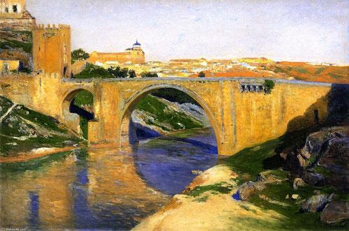 Aureliano de Beruete.Puente de Alcántara.1906