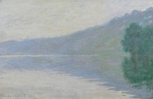 Claude Monet.El Sena en Port-Villez 1894.Òleo sobre lienzo.65x100cm.Tate.