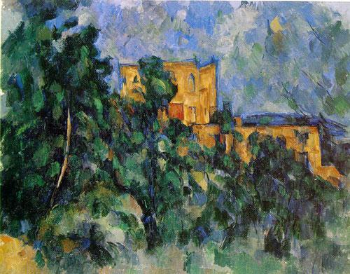 Paul Cezanne.Castillo negro 1905.Óleo sobre lienzo 74x94cm.Museo Nacional de Picasso.Paris.