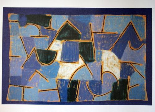 Paul Klee, noche azul 1937