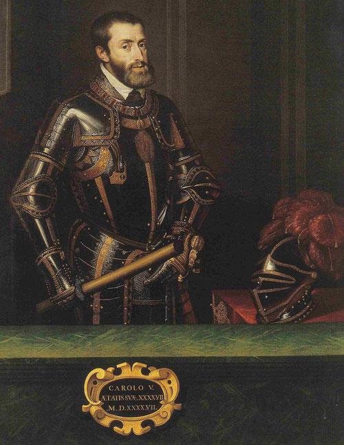 Juan Pantoja de la Cruz, Carlos V Armado,1599.Monasterio del Escorial.Madrid