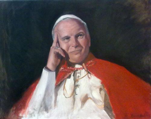 Juan Pablo II.Maravillas Larios de Soto. 2011.Madrid