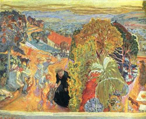 Aprés midí et deux enfants. La alegría de sus paisajes muy influenciado por Gauguin pero al dictado de su gusto personal, valiente, según Matisse.