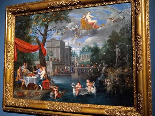 Jan Brueghel el Joven. Alegoría de la Paz.1640.Óleo sobre lienzo.66x90cm.Colección privada.Reino Unido.