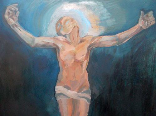 Cristo universal.Detalle. Arina Esse