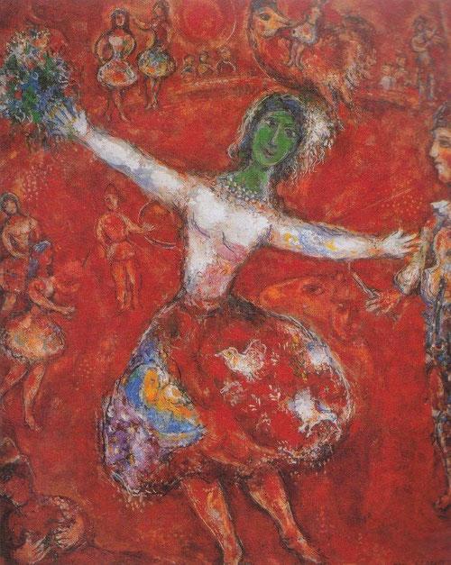 En el circo. 1968-1971. Colección privada.
