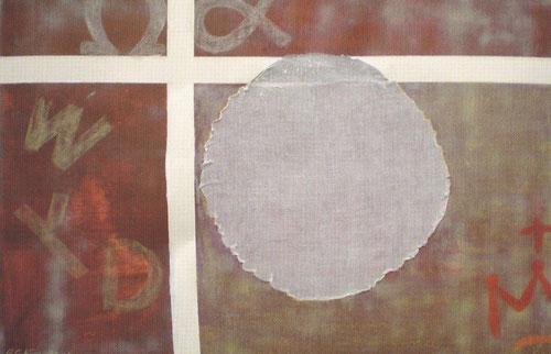 WYD 2011, Rafael Gil, Europa, España. Tecnica mixta sobre papel, 76x112cm.