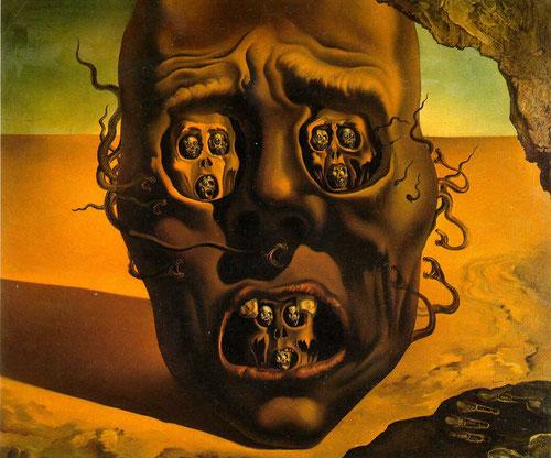 Dalí,El rostro de la guerra,1940