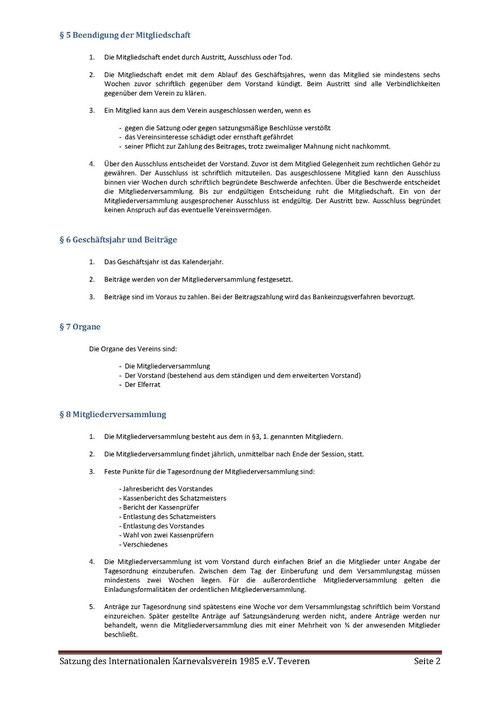 Satzung IKV Seite 2 von 5