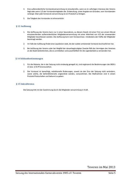Satzung IKV Seite 5 von 5