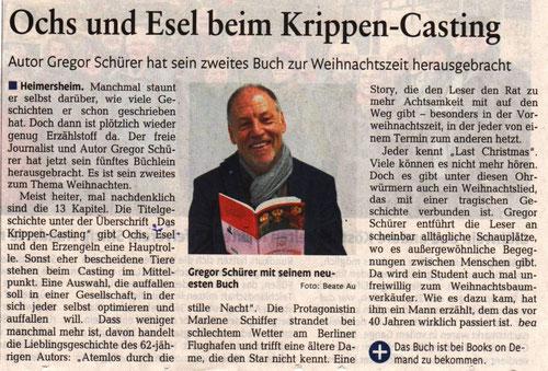 Artikel von RZ-Redakteurin Beate Au (Rhein-Zeitung vom 10.12.2019)