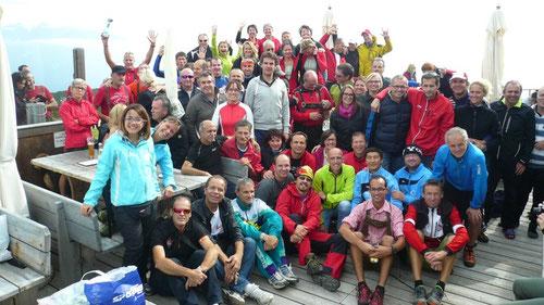 Teilnehmer in Ritten
