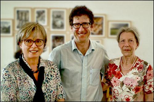 Prof. Dr. Lukas and Dr. Heidi Schönfeld with our translator Dr. David Nolland