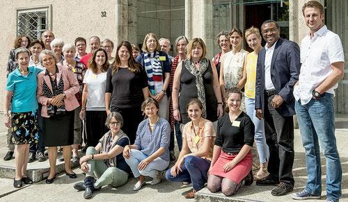 Teilnehmer des Seminars: Logotherapeutische Gesprächsführung (24.-28.7.2017)