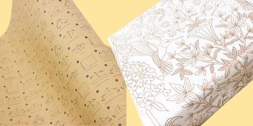 Geschenkpapier von Bow & Hummingbird