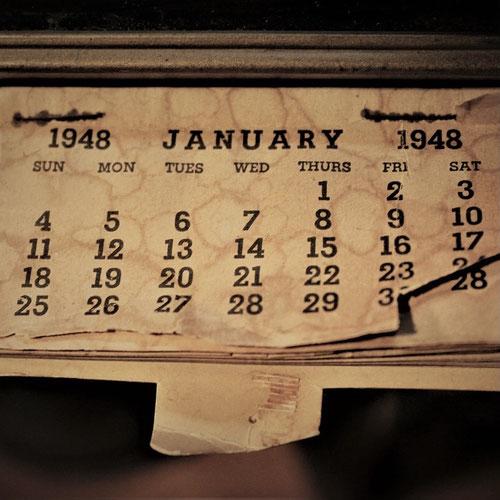 alter Kalender