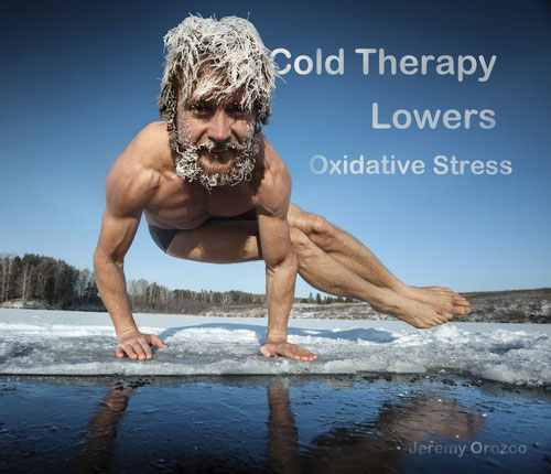 Wim Iceman Hof Cold therapy lowers oxidative stress