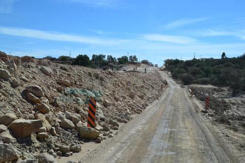 Mexikanische Baustelle