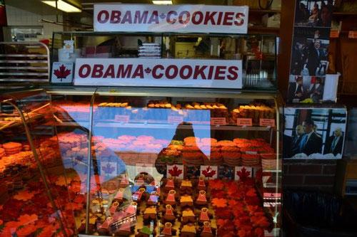Bäckerei mit den Obama-Keksen