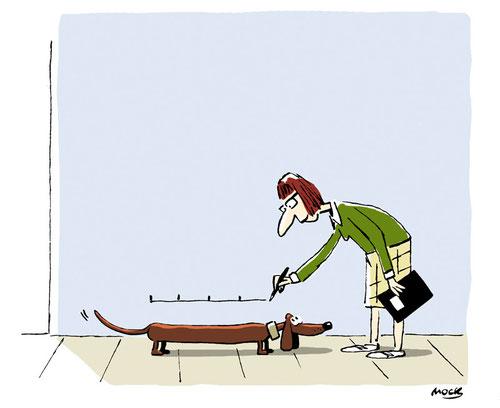 Cartoon von Mock zum Thema Hund