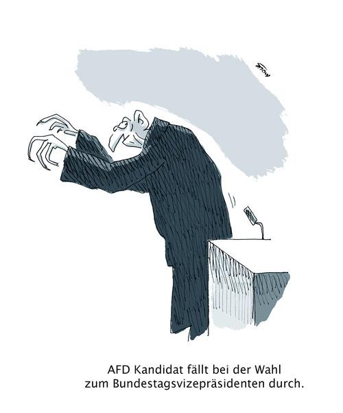 AFD Bundestag Vizepräsident Wahl