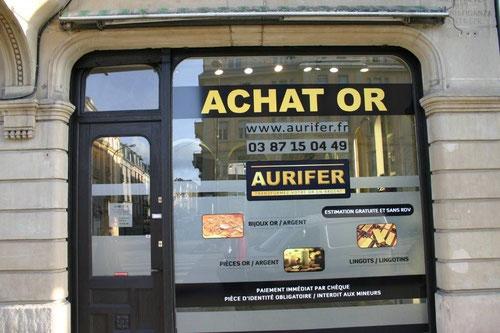 Aurifer - Achat or et argent, bijoux et pièces