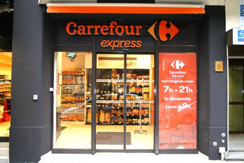 carrefour express le triangle imp rial metz. Black Bedroom Furniture Sets. Home Design Ideas