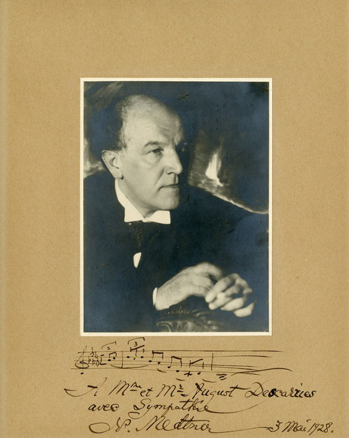 Nicolas Medtner conseille Descarries et aura une influence déterminante sur sa musique