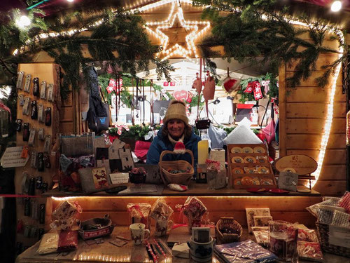 Weihnachtsmarkt am Goetheturm 2014