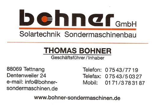 Bohner Solartechnik GmbH
