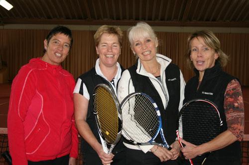 v.l. Sonja Bremenkamp, Birgit Tillmann, MF Kerstin Haferkemper und Jutta Reimer.