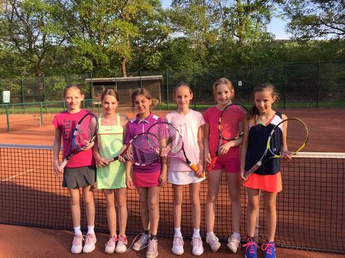 Von links: Emily Kruse, Anne Klitzka, Julia Fleige, Olivia Kruse, Inga Schnurbus und Yara Hohmann