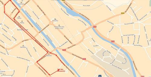 Parcours de la Barisienne 2013