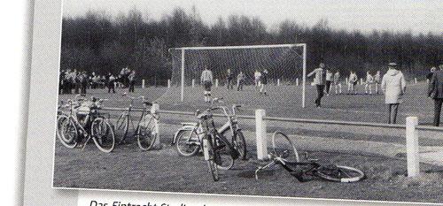 Das Eintracht Stadion beim Forsthaus ist seit den 1960er Jahren an den Wochenenden das Ziel sportbegeisterter Vereinsangehöriger und Gemeindemitglieder