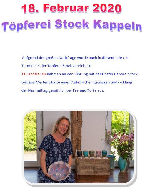 Besuch Töpferei Stock Kappeln