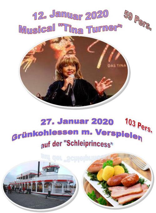 Musical Tina Turner Grünkohl-Essen